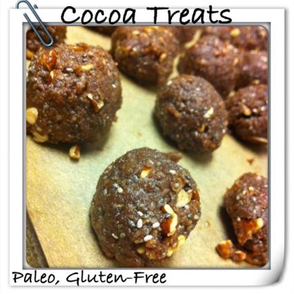 Cocoa treats