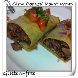 Slow Cooked Roast Wrap