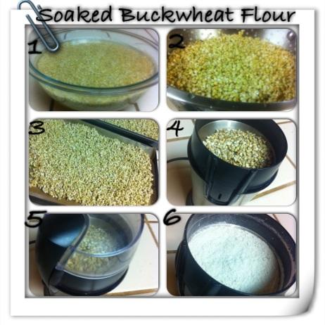 soaked buckwheat