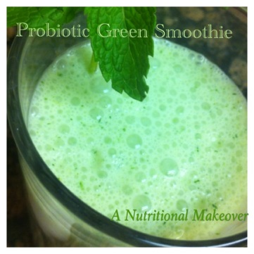 Probiotic Green Smoothie